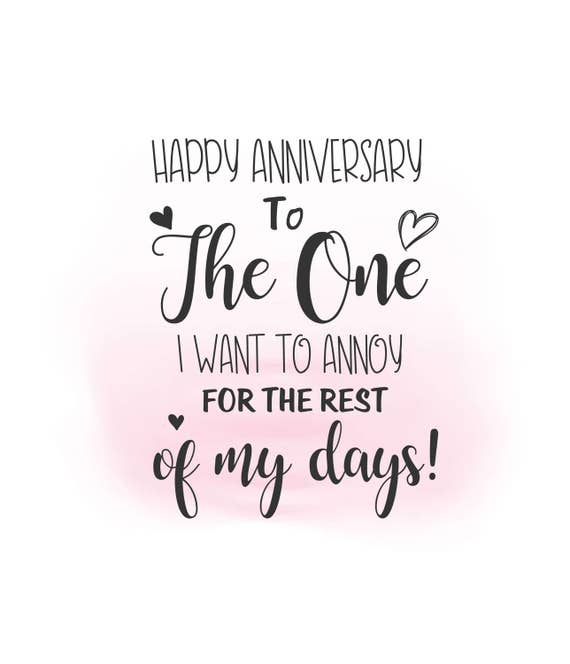 Anniversary Quote: Happy Anniversary SVG Clipart Anniversary Quote Digital