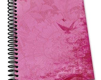 Fantasy Flight   6×9 Coil Bound   Soft Cover Notebook   Lined Journal Pages / Notebook / Diary