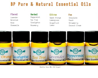 BP Aromatherapy 2ML Essential Oils // Aromatherapy // Fragrance // Pure Scent