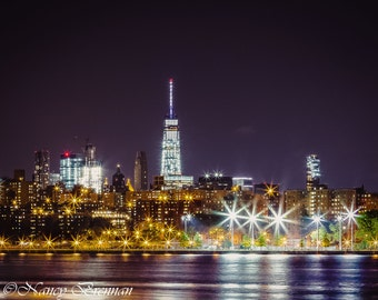 New York City Skyline across the East River as seen from Brooklyn