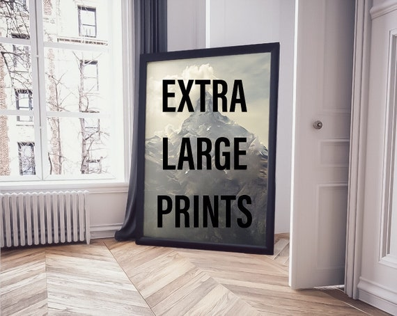 Extra Large Wall Art Watercolor Prints