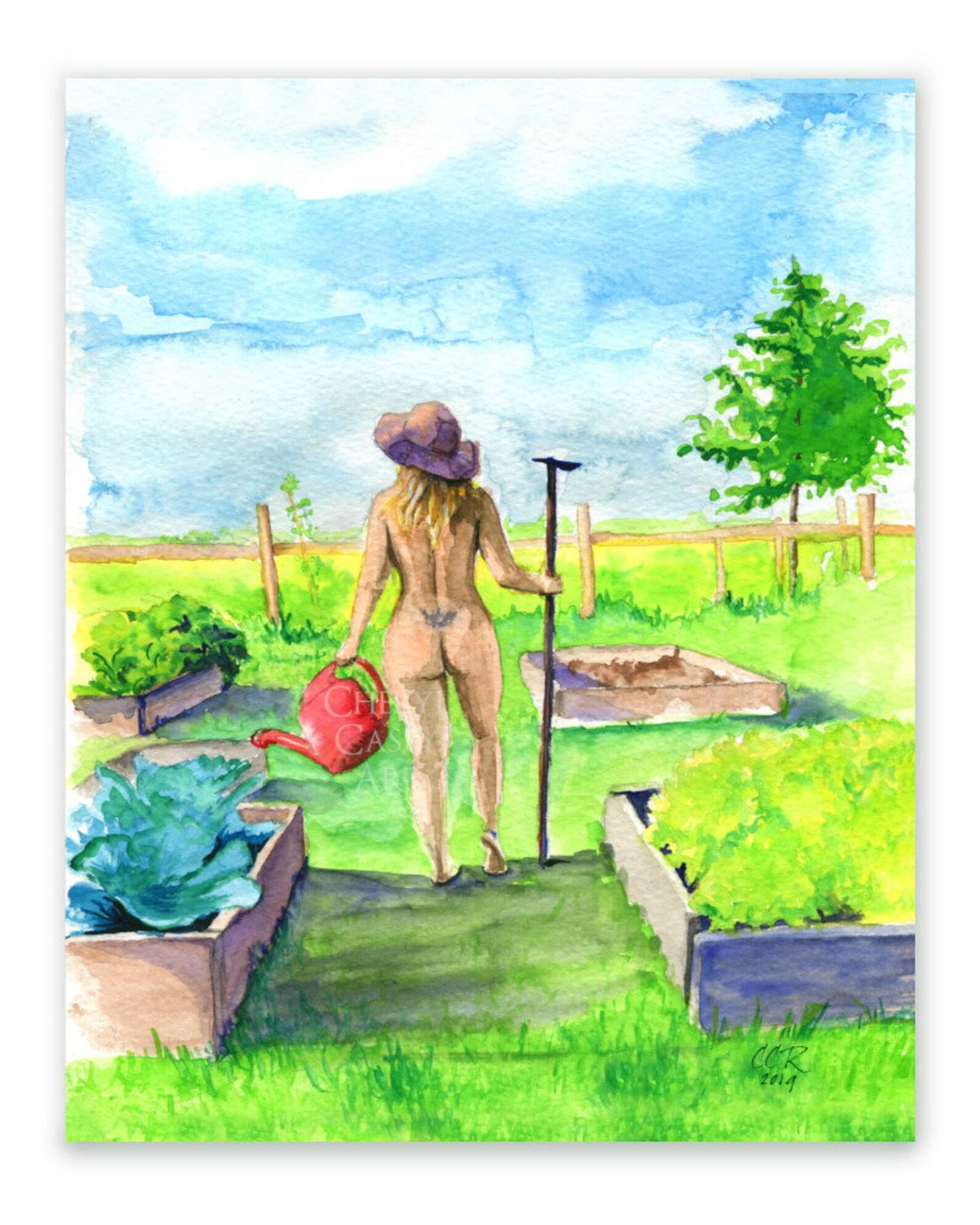 Campbelltown's tim's garden centre owner tim pickles talks about world naked gardening day