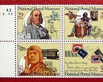 US postage stamps (National Postal Museum) Unused Mint never hinged