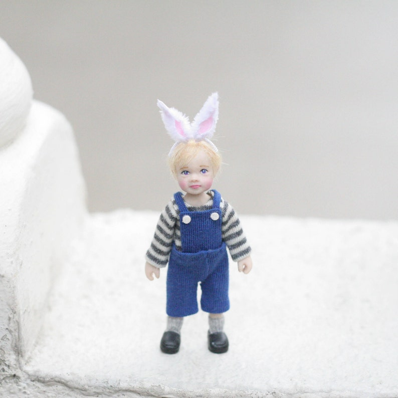 1//12th maison de poupées-joli sac à main-SG