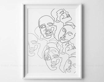 Printable black white drawings woman sex