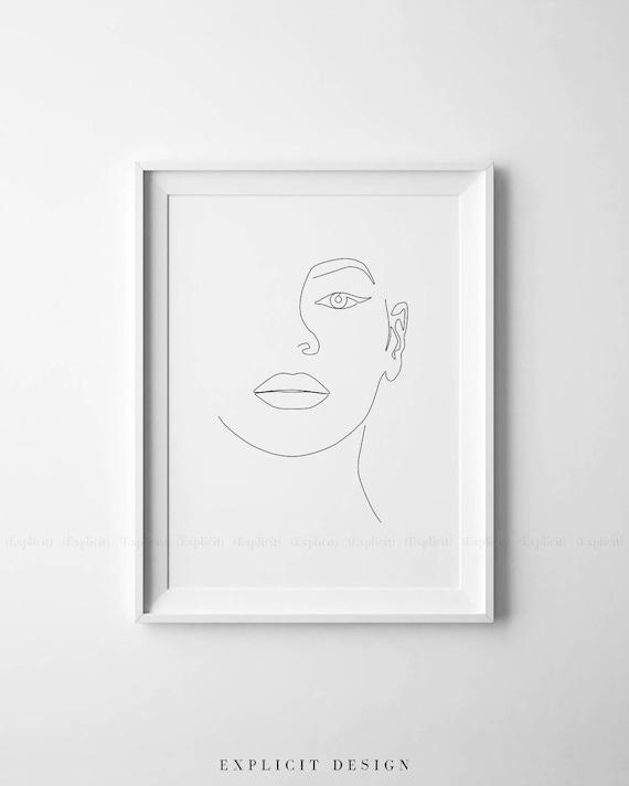 Beyonce Illustration Imprimer Dessin Femme Imprime Noir Et Etsy