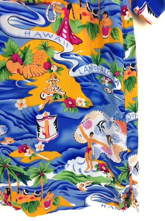 Vintage Land Of Aloha Hawaiian Shirt / Aloha Wear… - image 4