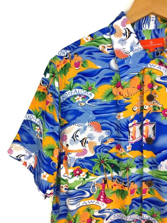 Vintage Land Of Aloha Hawaiian Shirt / Aloha Wear… - image 2