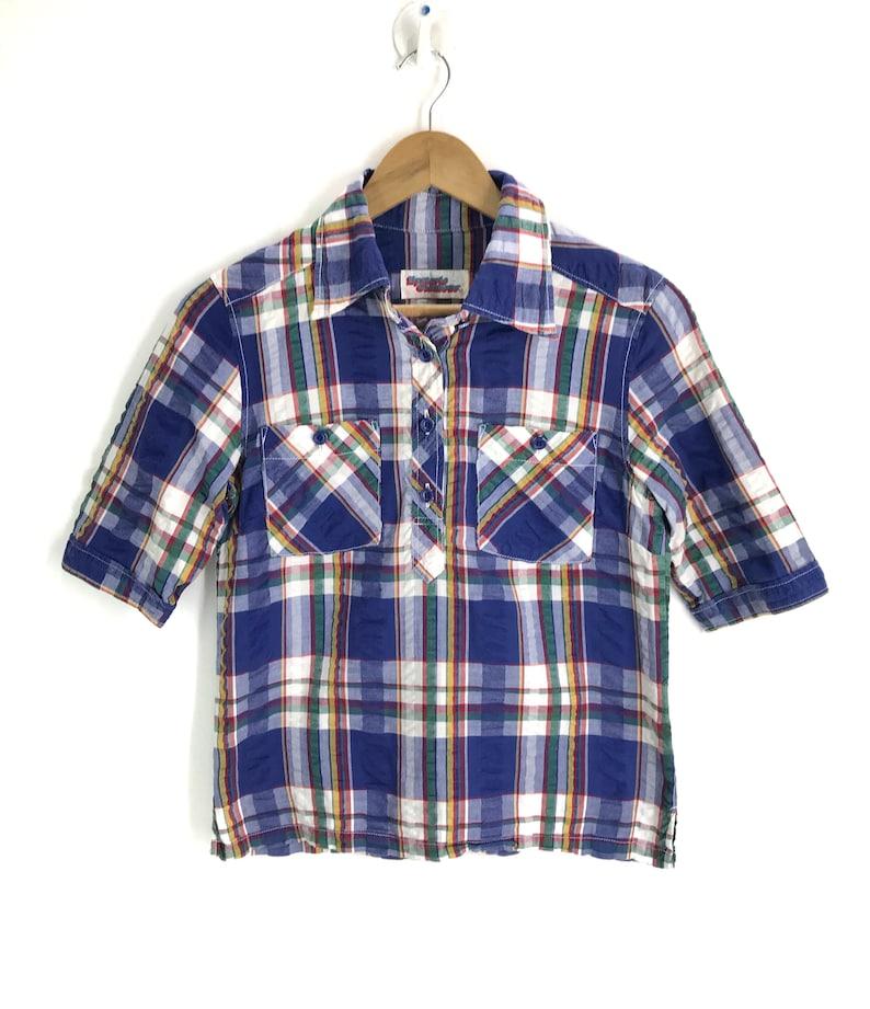 cc9ae8e3 Vintage HYSTERIC GLAMOUR Tartan Checkered Shirt Bape | Etsy