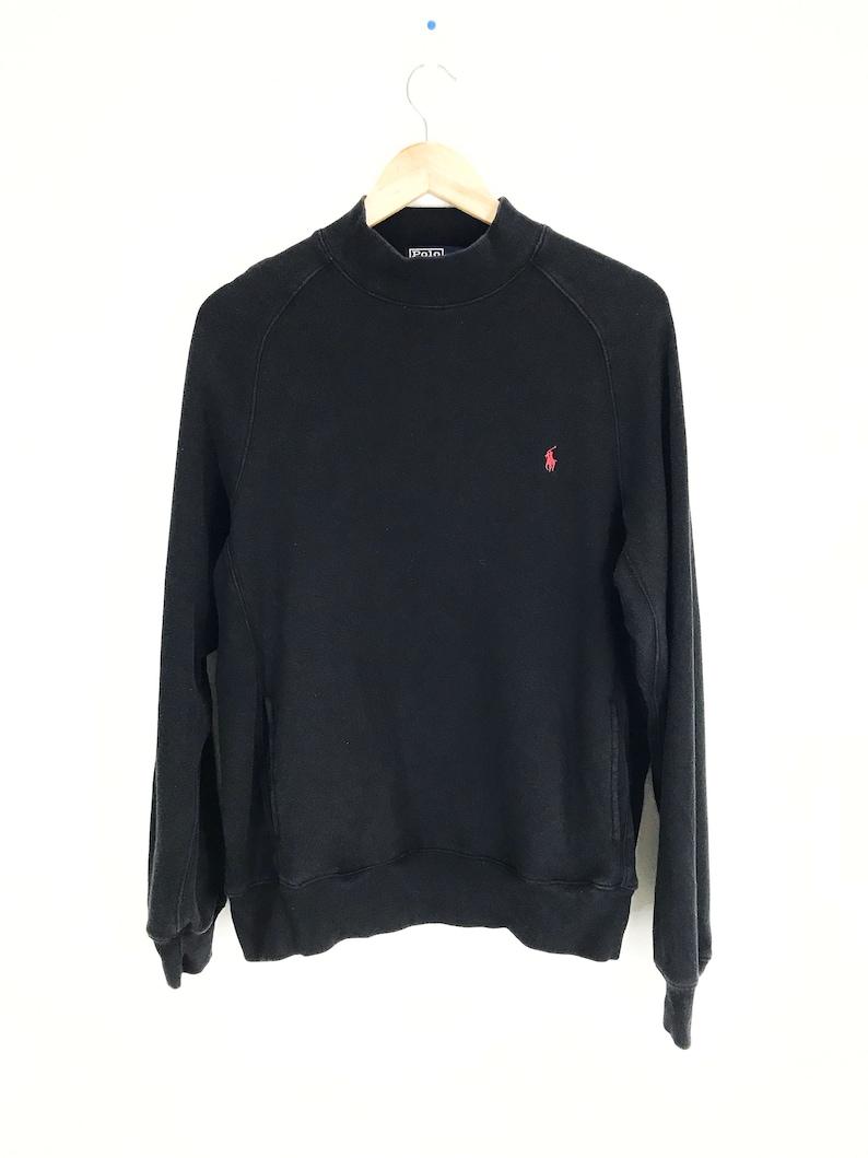 3d9f024b5 Vintage Polo Ralph Lauren Small Pony Pullover Sweatshirt | Etsy