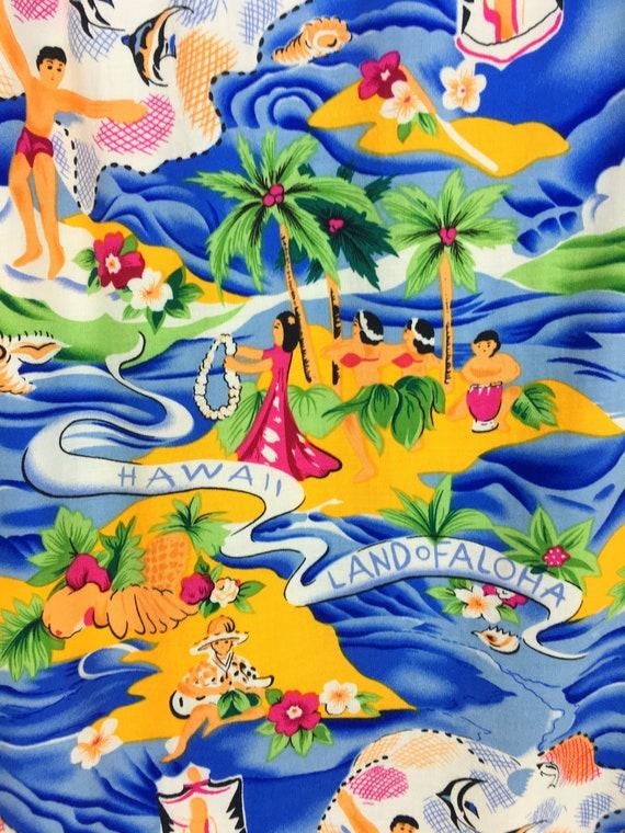 Vintage Land Of Aloha Hawaiian Shirt / Aloha Wear… - image 8