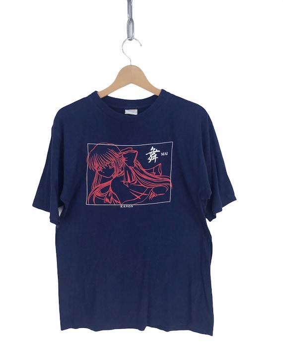Vintage 90s ANIME KANON Mai Shirt / akira / ghost