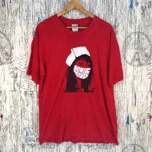 Vintage 90s Third Eye Blind Band t Shirt Soundgarden Butthole Suffers Cranberries Pixies Lush Smashing Pumpkins Red hot chilli peppers