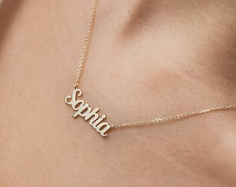 14k gold necklace  c10397731f