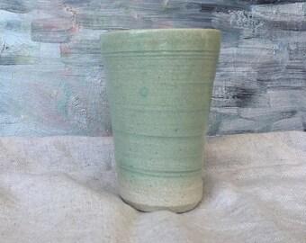 Ceramic Cup, Beer mug , Tumbler 400ml - Light Green