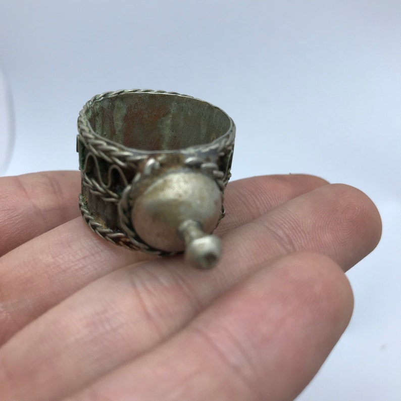 Old tribal berb\u00e8re ring,ait khabach ring desert morocco ANIF solide ring