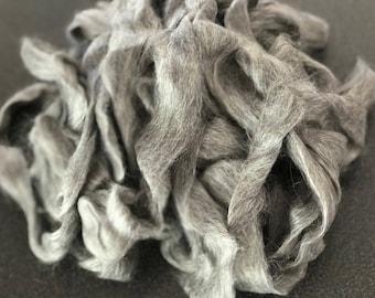 Suri Alpaca Rovings - Grey