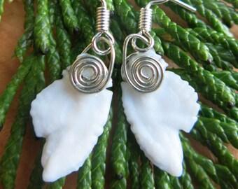 Otolith earrings (Rockfish)