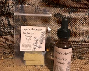 Herbal Eye Wash Remedy