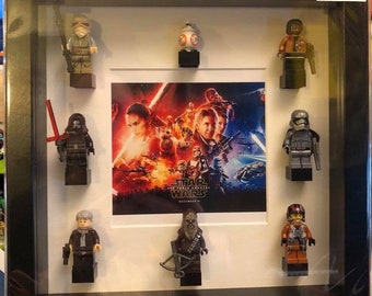 Star Wars The Force Awakens Minifigure Frame