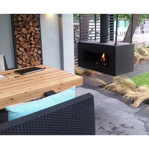Steel Hanging Wood Burner Etsy