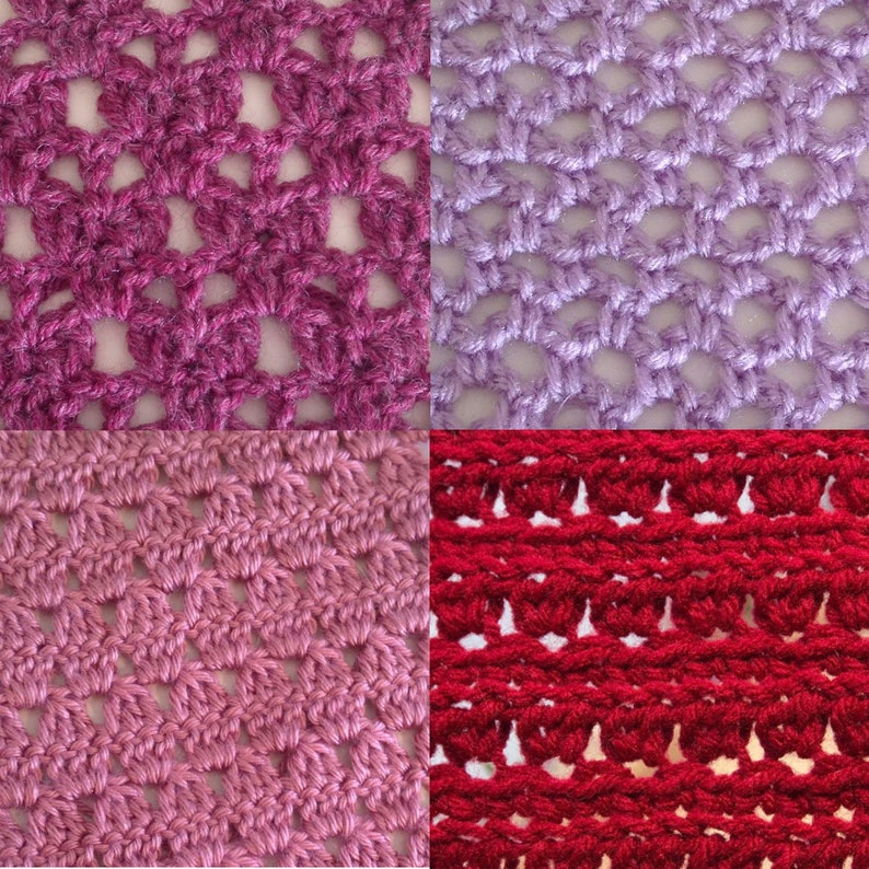 February Stitch Along Bundlevalentines Day Stitch Patterns Etsy