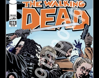 The Walking Dead Poster Comic Cover #106