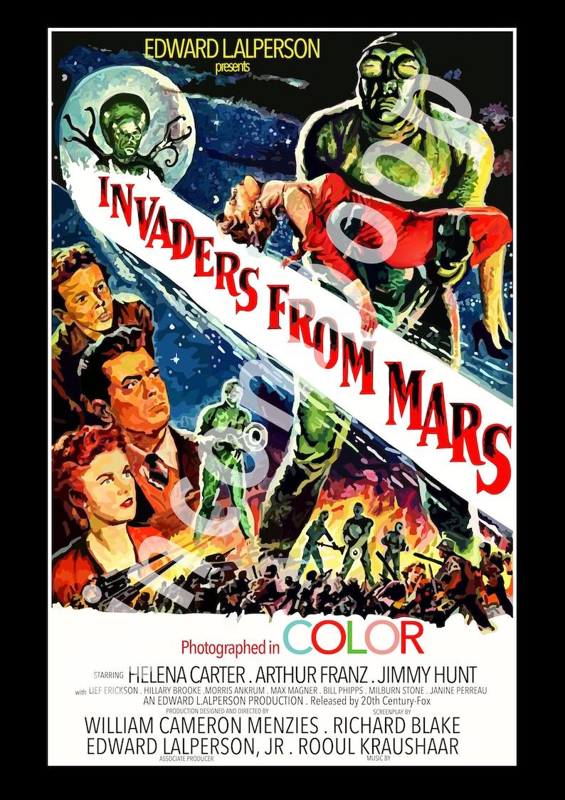 A3 Vintage Movie Poster A1 A4 Sizes A2 E.T