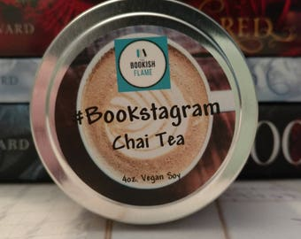 Bookstagram 4 oz Soy Candle
