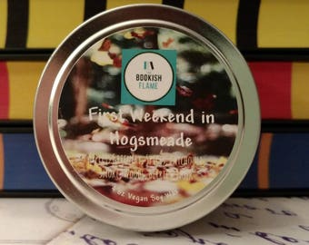 First Weekend in Hogsmeade 4 oz Soy Candle