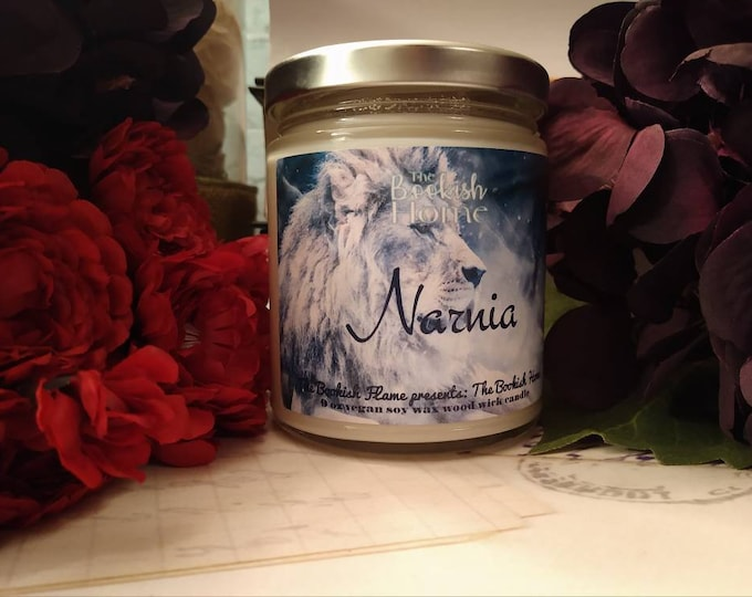 Featured listing image: Narnia | 9 oz Jar | Soy Wax Candle