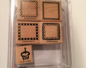 Borders and frames stampin' Up! Set