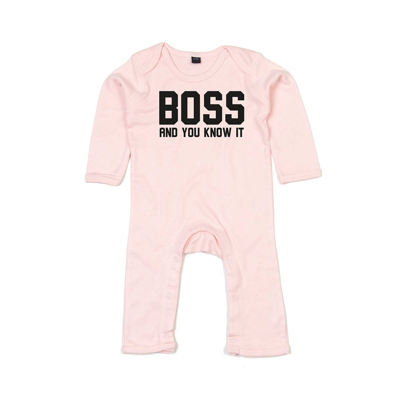 e7fccd326bd966 Boss romper baby romper baby boss boss and you know it | Etsy