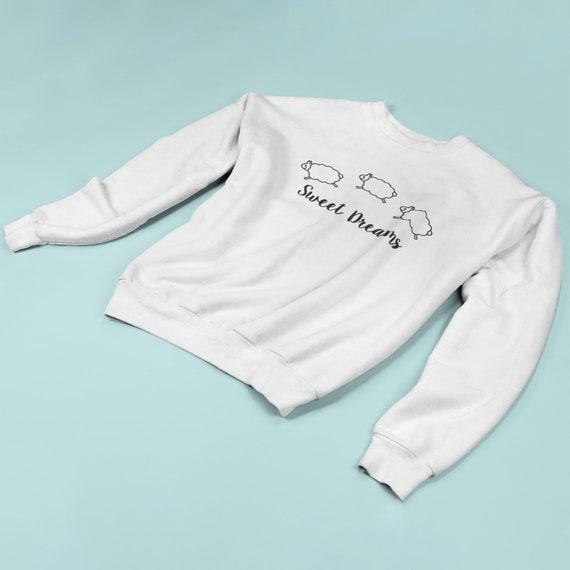 b8d63db1f838 Sheep sweater kids sweater sweet dreams dream sweater