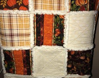 Autumn Rag Quilt