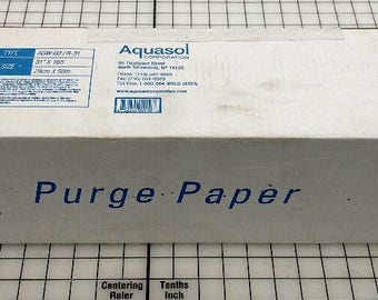 Water Soluble Paper  1000's of uses ,crafts ,magician , spy paper , seamstress , PRINTABLE for Crafts, Church, Magic Tricks