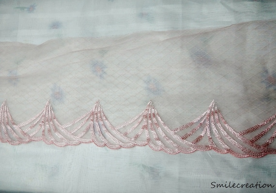 Free Post £4.99 For 5 Metres Special Price White Embroidery Anglaise Lace Trim