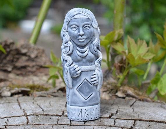 Carving Viking Statue Makosh Veles Lada Perun Stribog SET of 10 MIDDLE Marble Idol Of Slavic Gods Rod Divia Hors Svarog Dazhdbog