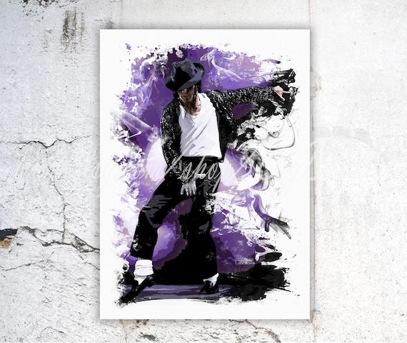 Michael Jackson Poster Michael Jackson impresión Michael | Etsy
