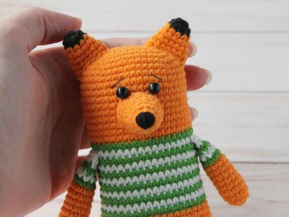 Amigurumi Fox Pattern Fox Amigurumi Pattern Crochet Fox Etsy