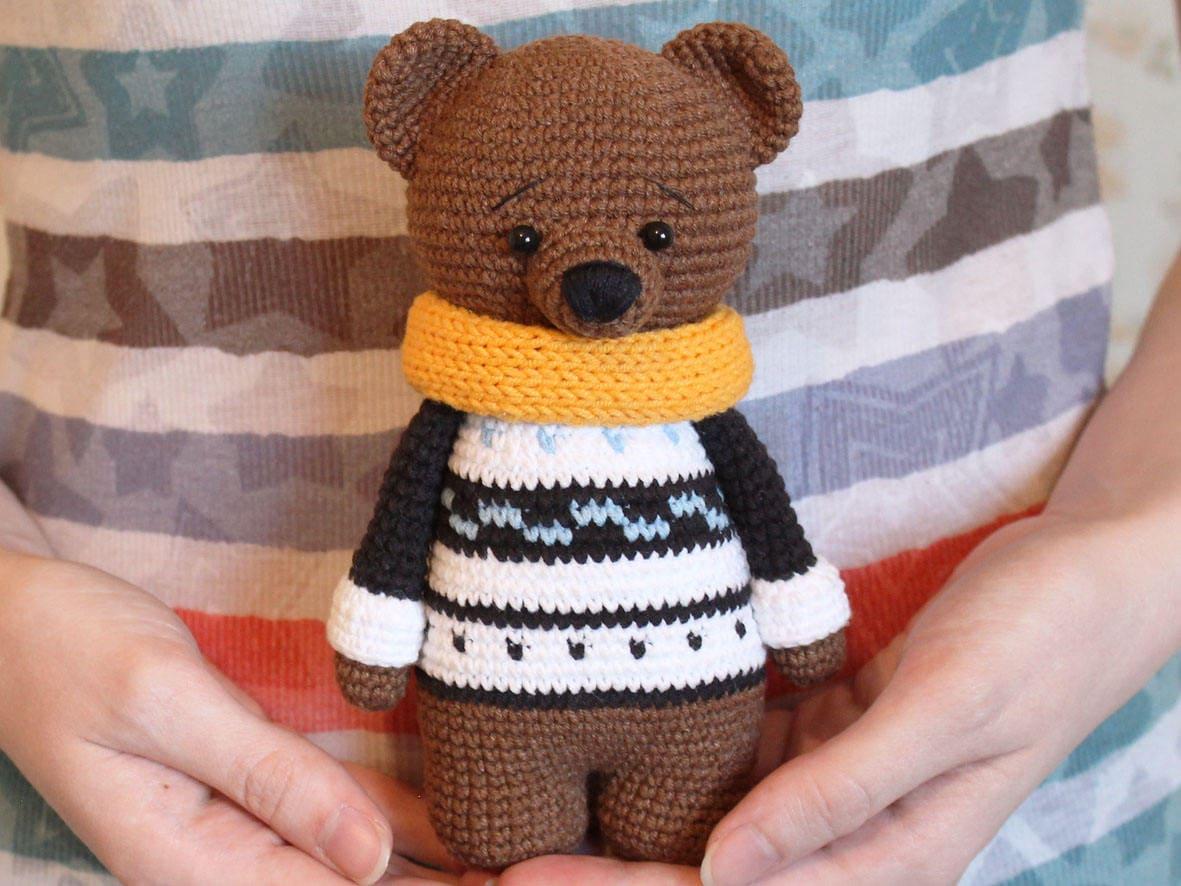 Crochet Pattern Crochet Bear Patterns Crochet Teddy Bear Etsy