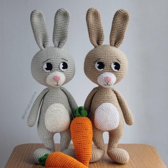 Bunny Amigurumi Patterns Amigurumi Crochet Patterns Amigurumi Etsy Simple Amigurumi Patterns