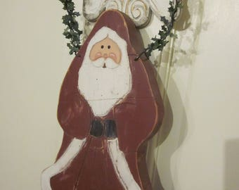 Handmade Wood St Nick