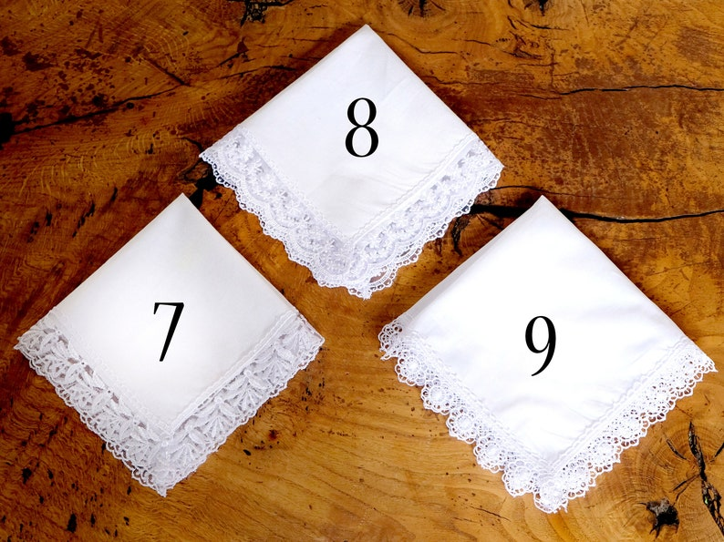 Wedding Handkerchief Mother Gift Mother of the Bride Handkerchief Bridal handkerchief Wedding Gift to Mother Personalized Gift M007A