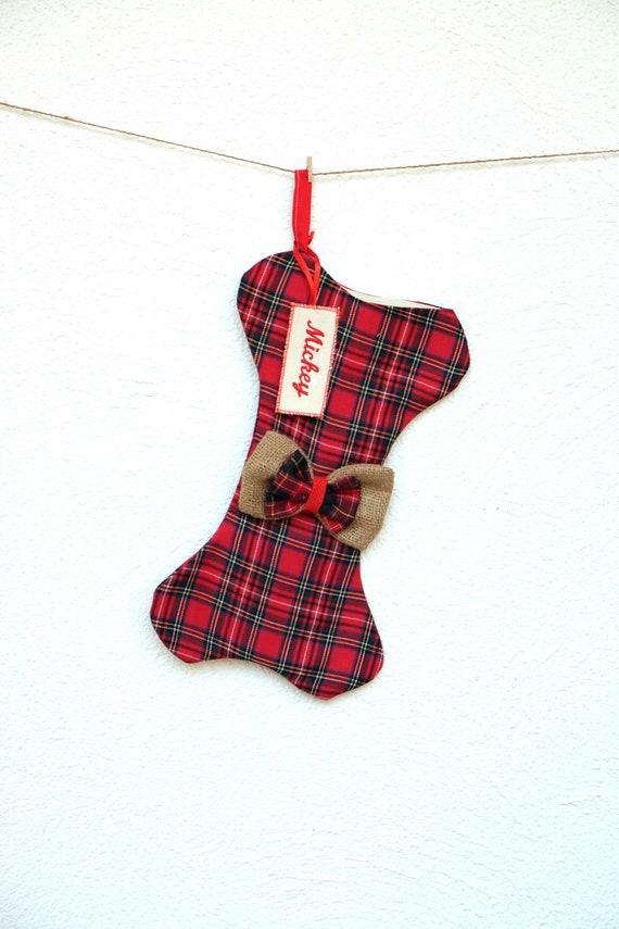 Dog Christmas Stocking.Personalized Dog Bone Christmas Stocking Dog Bone Stocking Dog Stocking Christmas Stocking Pet Stocking Dog Christmas Bone Stocking J16