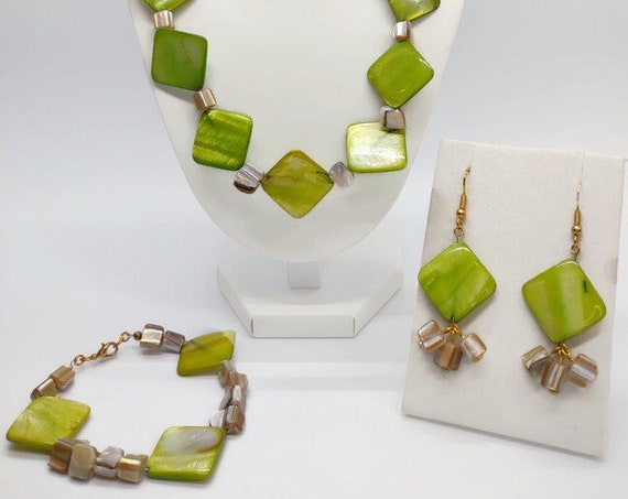 S-1643 Shell Necklace Set