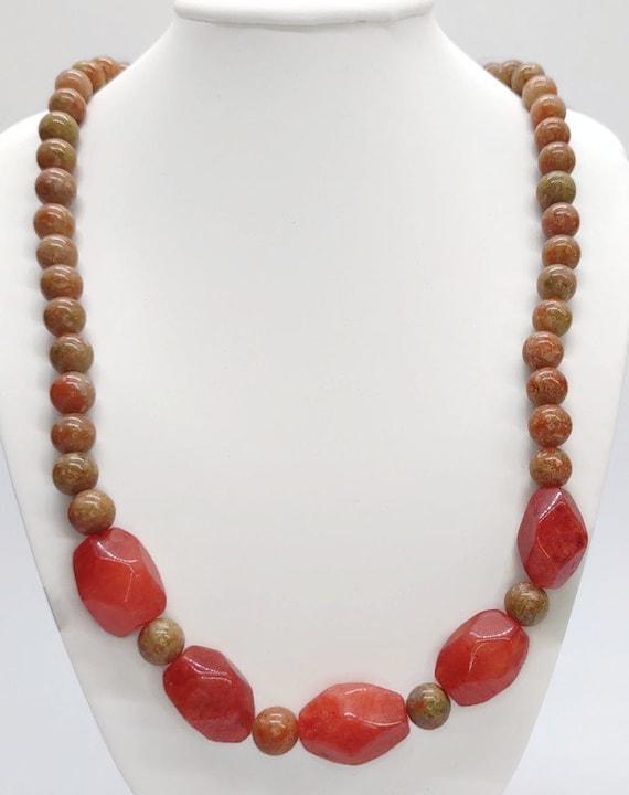 N-1620 Gemstone Necklace