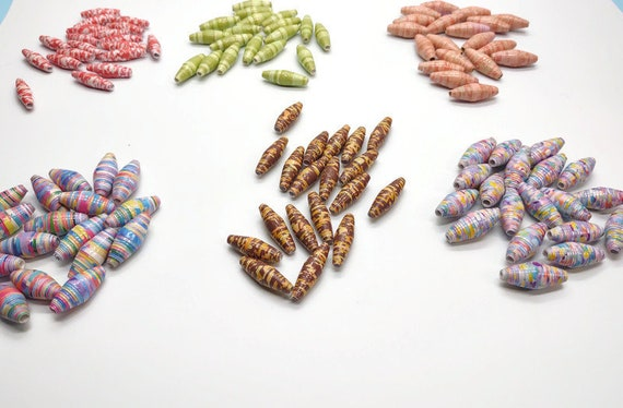 Paper beads 20 count