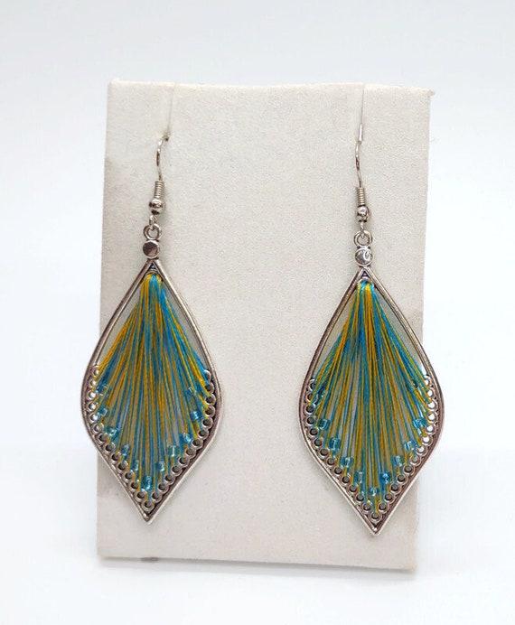 E-1693 Silk Earrings