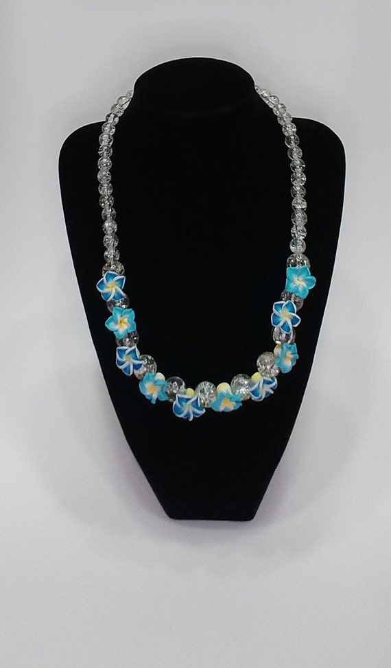 N-1506 Floral Necklace